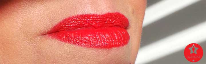 Lord & Berry lipstick red lips yustsome