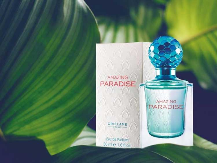 oriflame parfum amazing paradise