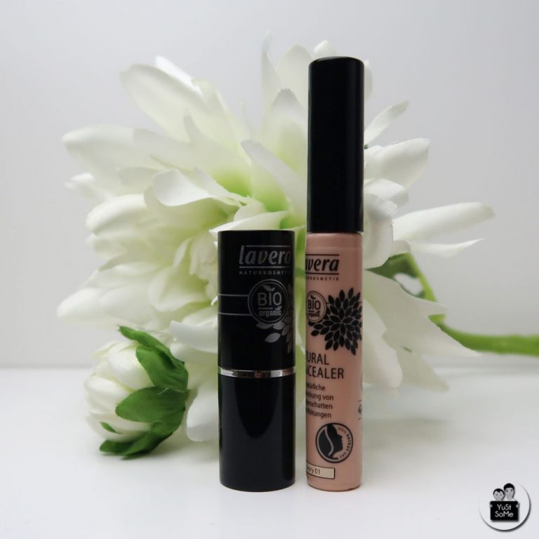 lavera-natur-kosmetik-natuurlijk-cosmetica-makeup-review-concealer-lipstick-yustsome