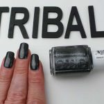 Swatched-it | Tribal text-styles | Essie nagellak
