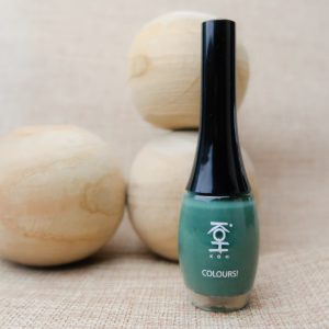 Yustsome, nailpolish, swatched, woodstock, green, koh