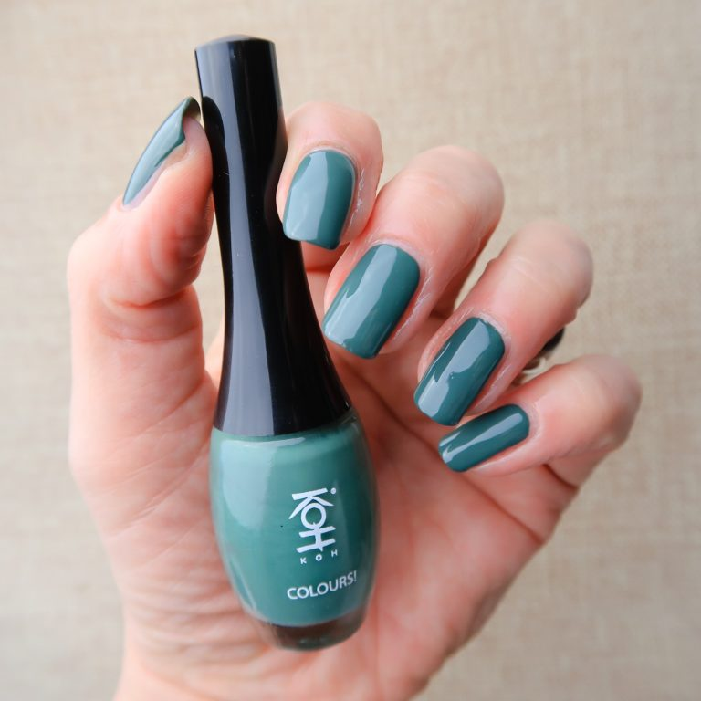 Koh woodstock green nailpolish yustsome