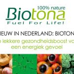 NIEUW IN NEDERLAND: BIOTONA | Biotona