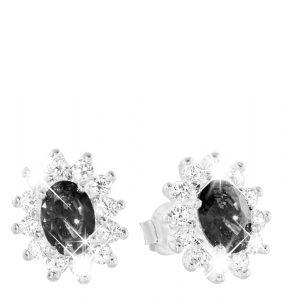 zilveren-oorbellen-entourage-met-zwarte-zirkonia