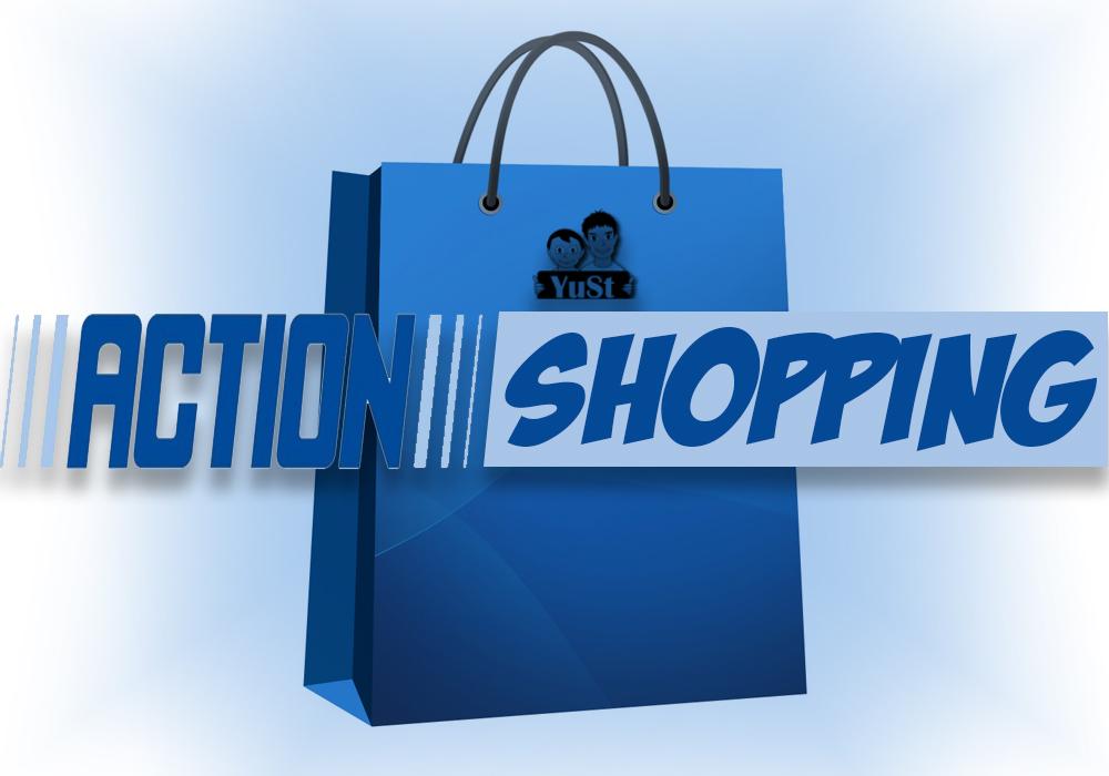 Shoppen bij de Action   Shoplog