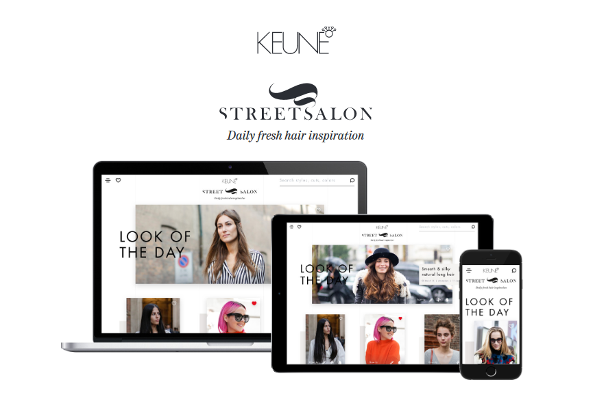 Keune Haircosmetics kondigde 14 maart j.l. Street-Salon aan | Persbericht