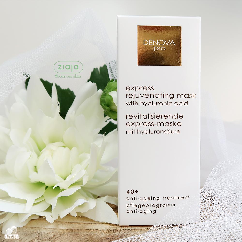 Ziaja-Denova-Pro-Express-rejuvanating-mask-masker-hyaluronzuur-review-yustsome-intro