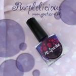 Purplelicious | ms sparkle | paars | purple | nailpolish | yustsome