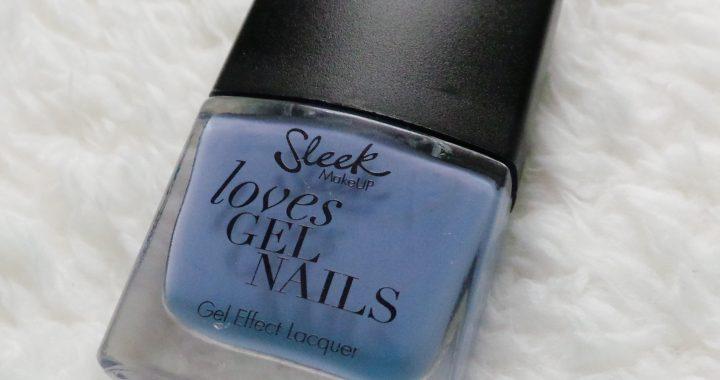 Sleek review nailpolish swatch yustsome smokin violet nails natural