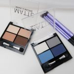 Action, matte, eyeshadow, blue, brown, palette, review, yustsome 1