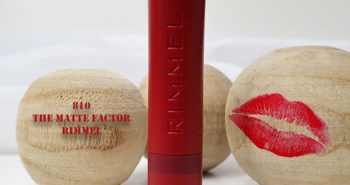 Rimmel-London-The-Matte-Factor-810-review-lipswatch-yustsome-lipstick-mat