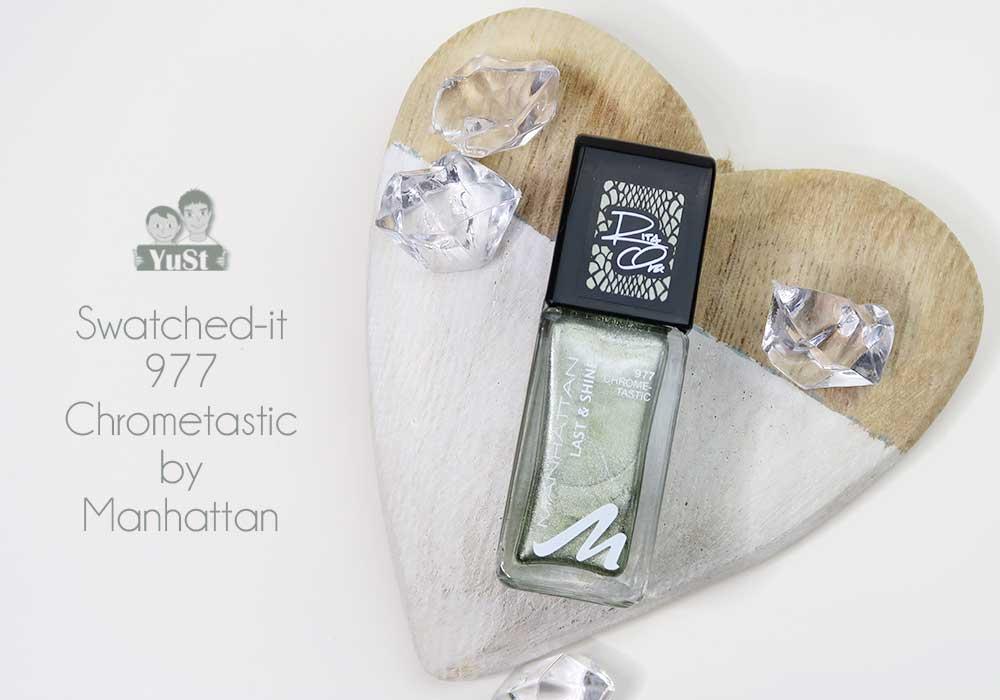 Swatched-it | Chrometastic | Rita Ora | Manhattan