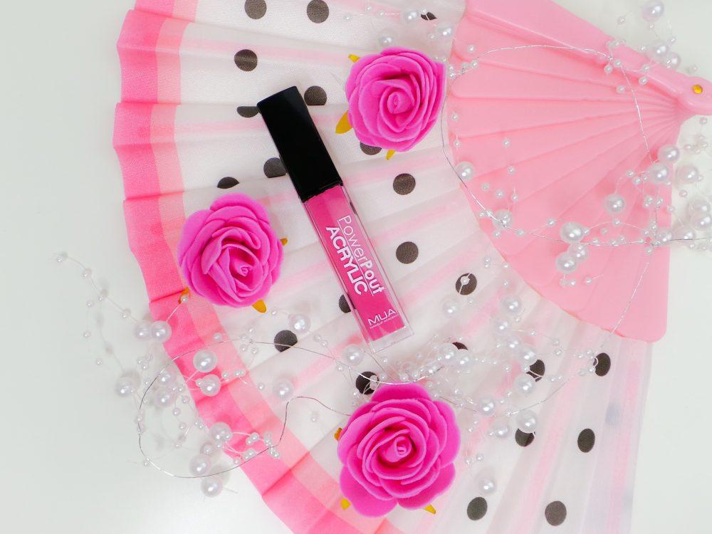 MUA lipstick supreme swatch review beauty blog
