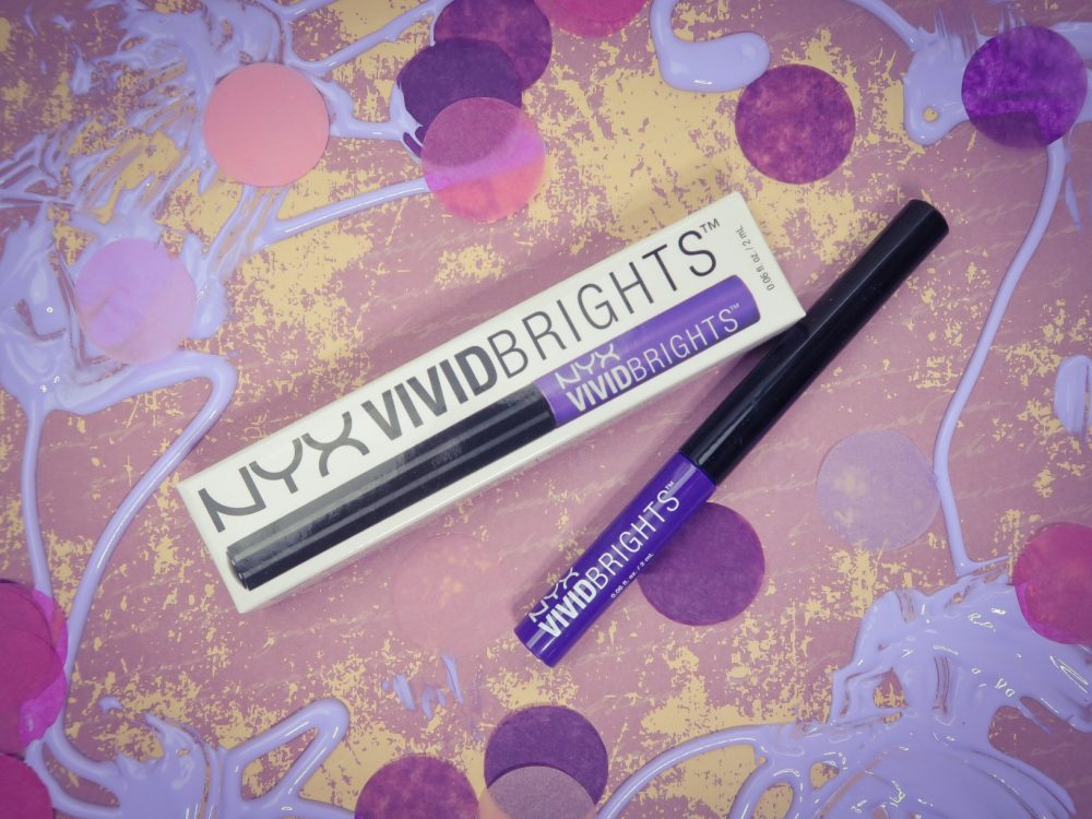 Mijn NYX liefde is nog niet over | Violet eyeliner