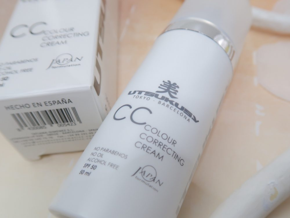 Utsukusy, cc cream, japan, skincare, verzorging, beauty, blog, make-up, yustsome, hydraterend, verzorgend, crème