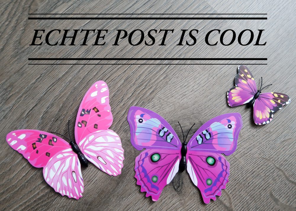 ECHTE POST IS COOL