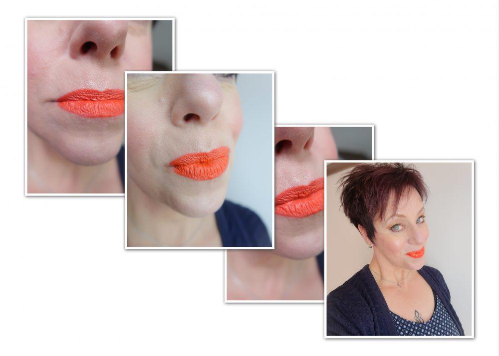 MUA Luxe Vivid Lipstick Burn Baby Burn, mua, lipstick, review, beautyblog, blogger, yustsome, makeup