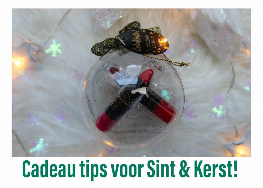 Cadeautips voor Sint & Kerst | Diverse winkels