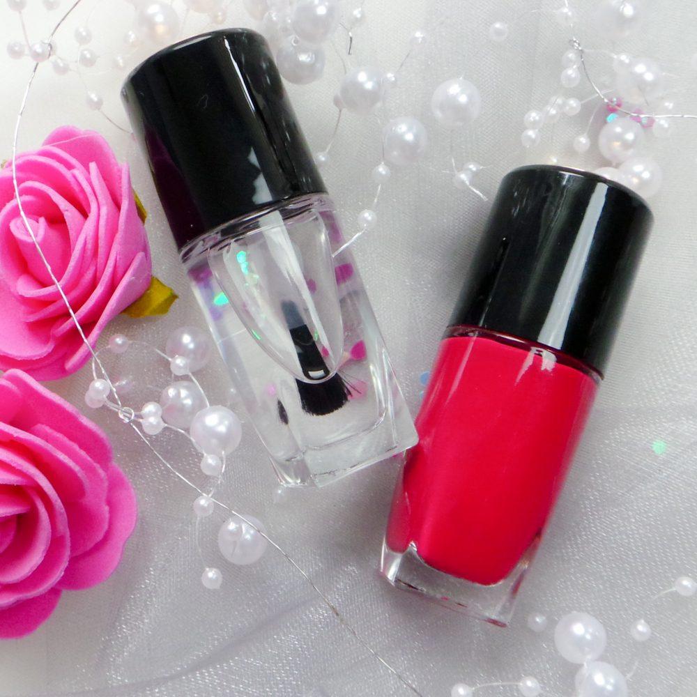 Ik heb niet vaak luxere merken op mijn blog, maar vandaag laat ik jullie zelfs twee producten zien van Lancôme. Mijn nagels stak ik in een kek roze jasje en mijn lippen werden stoer roze!
