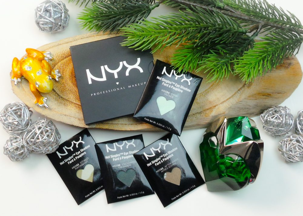 Blauwe ogen, groene oogschaduw | NYX Cosmetics