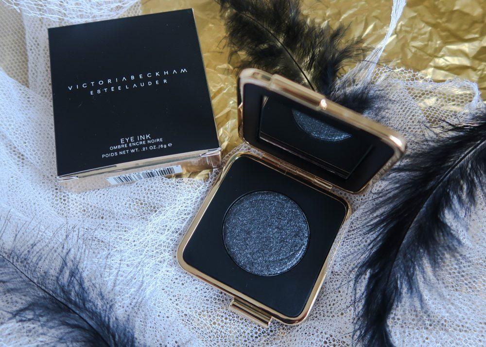 Black Myhrr, beauty, yustsome, Victoria, beckham, estée, lauder, eye, ink, black, eyeshadow,