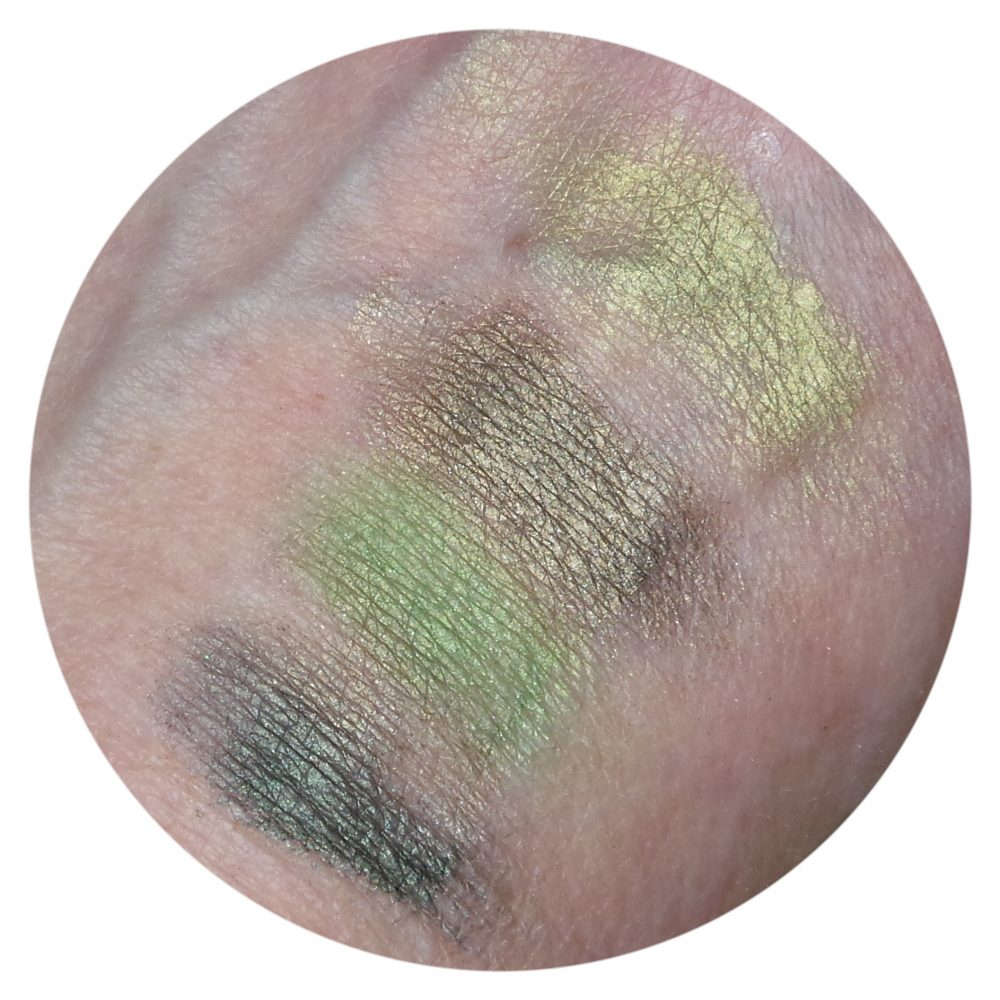 Nyx, cosmetics, eyeshadow, palette, green, zelf, samenstellen, mini, green, beauty, blog, review, yustsome