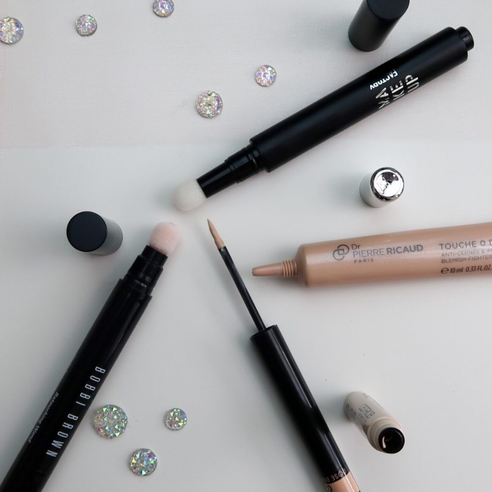 Concealer, bobbie brown, dr. pierre ricaud, catrice, makeup factory, camouflage, stick, applicator, beauty, mua, beautysome.nl
