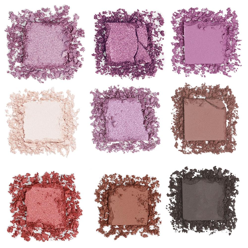 I ❤️ REVOLUTION, oogschaduw, palette, glitters, mooi, doosje, paars, roze, mint, swatch, treasure, fortune, seeker, beautysome, blog, review