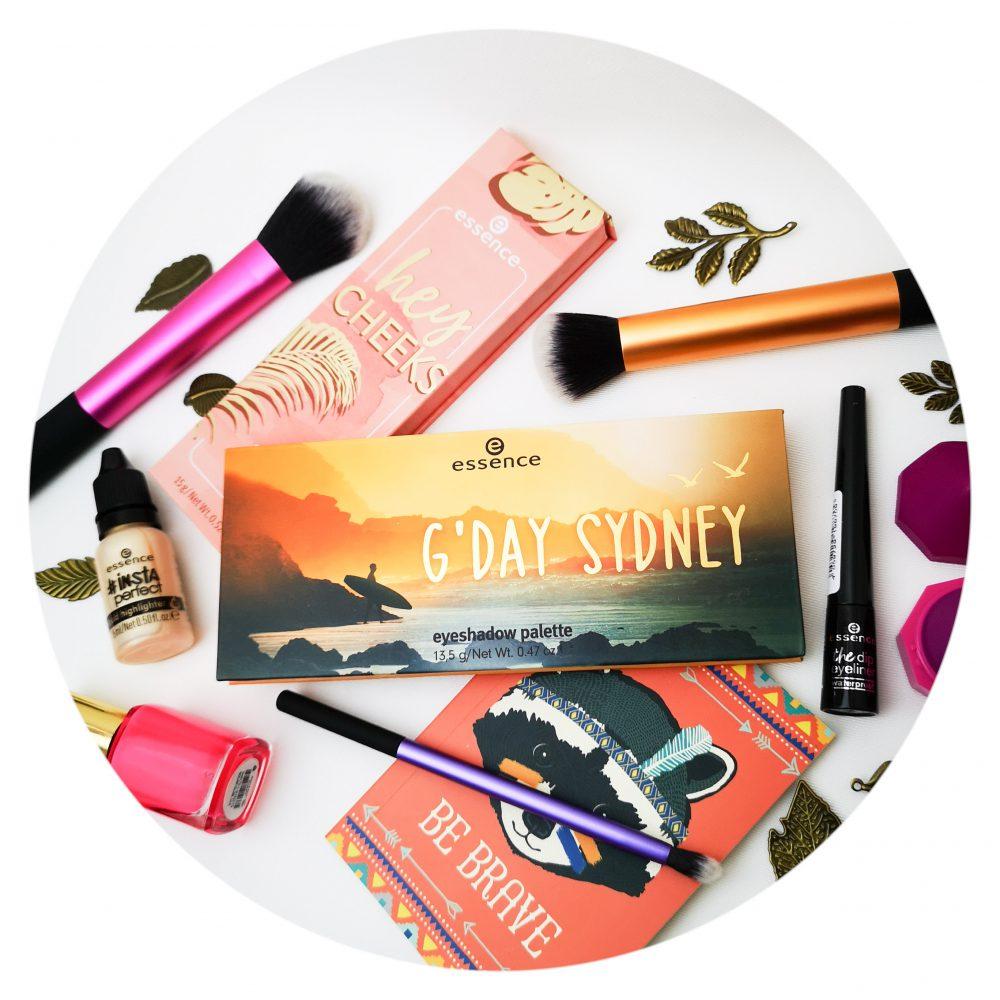 Essence, zomer, lente, 2019, nieuw, Sydney, oogschaduw, palette, blush, eyeliner, glow, beauty, 50 plus