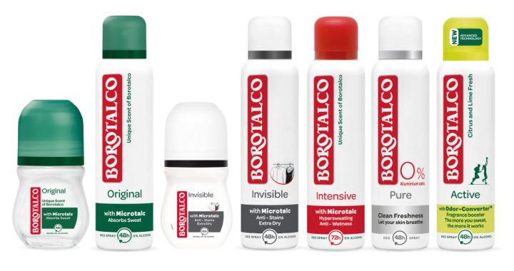 Borotalco, persbericht, happylife, press, deo, deodorant, fresh, oksel