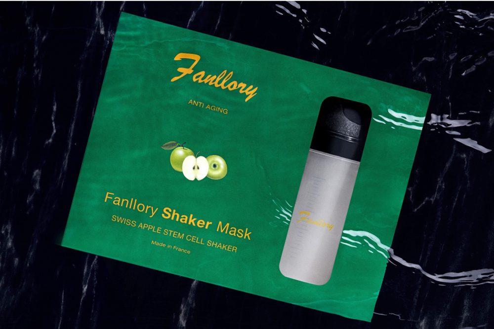 Argan, Apple, Fanllory, stamcel, masker, shaker, poeder, Nederland, uniek, Shaker, beauty, Skincare
