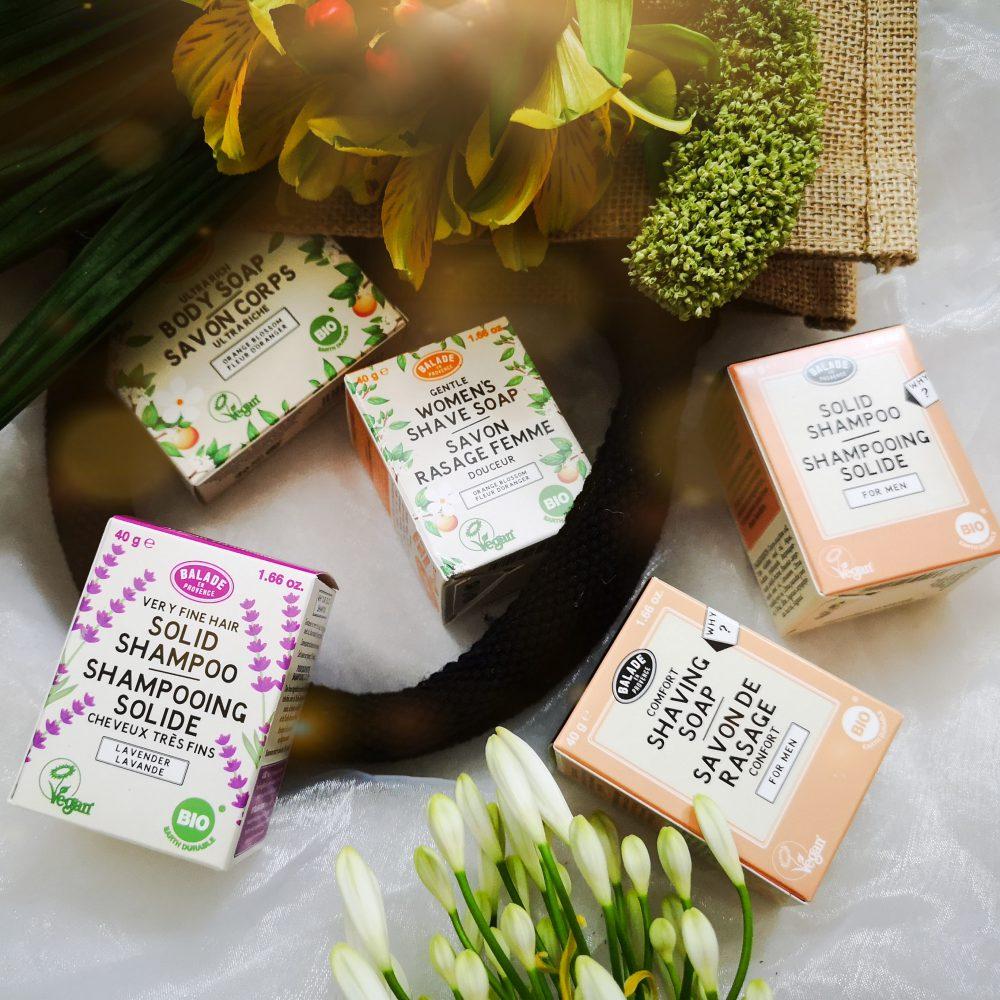Balade en Provence, zeep, huid, haar, ambachtelijk, vegan, natuurlijk, wassen, scheren,