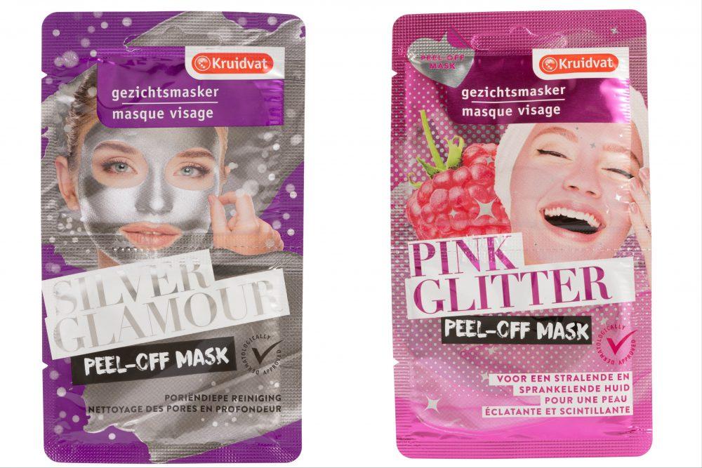 Nieuwe Peel-off maskers van Kruidvat