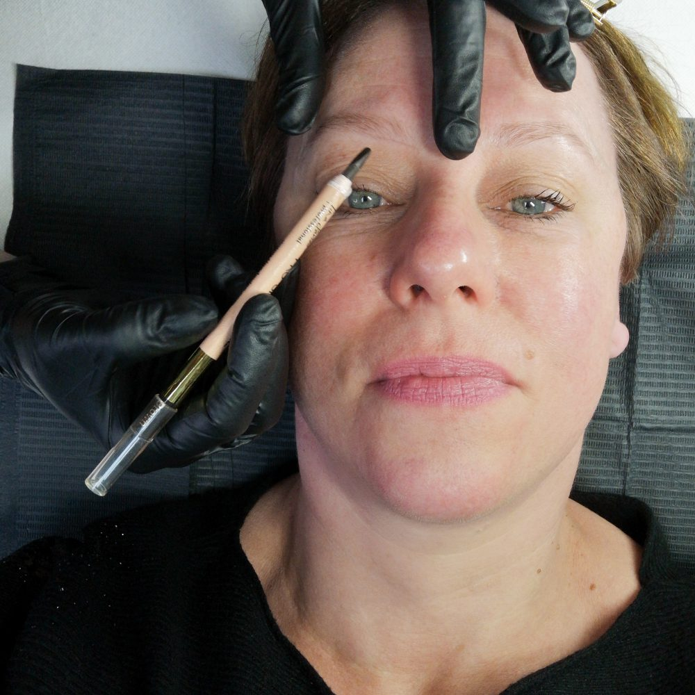Powder, ombre, brows, PMu, by Ellis, Arnhem, review, microblading, wenkbrauwen, beauty, schoonheid, semi-permanent, make-up, beautysome, Powder brows