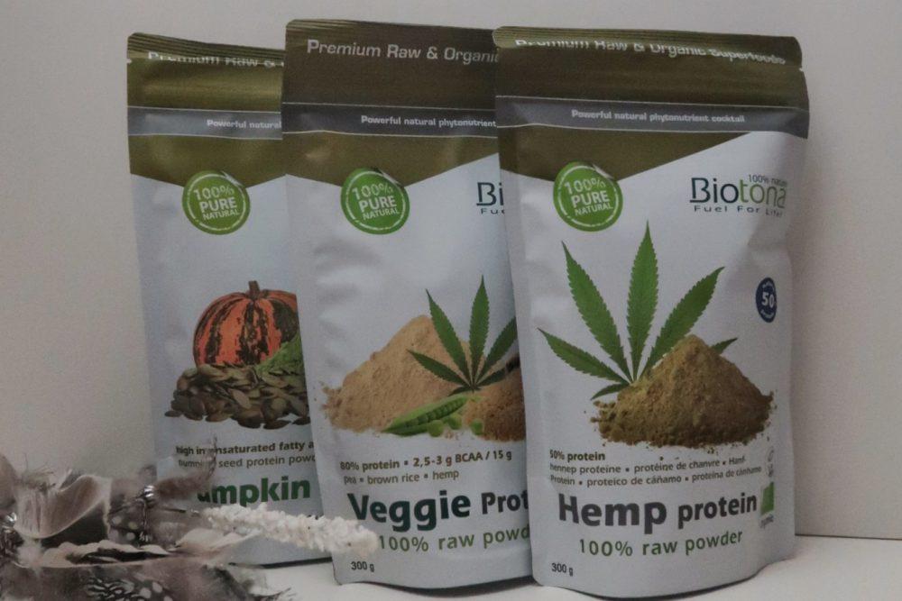 Biotona | natuurlijke proteïne voor een Vegan levensstijl